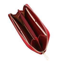 Эксклюзивный кожаный бумажник для женщин Красный TL141206