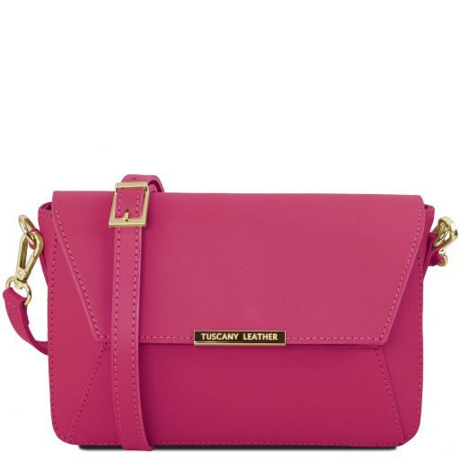 TL Bag Pochette in Pelle Viola TL141584