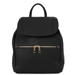 TL Bag Soft leather backpack for women Черный TL141697