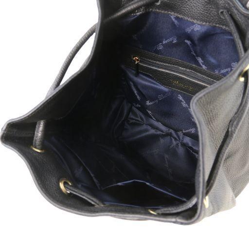 TL Bag Zaino donna in pelle morbida Nero TL141697