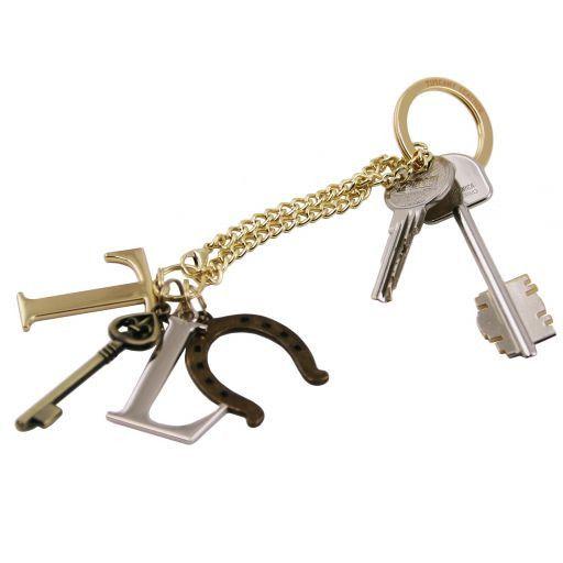TL KeyLuck Esclusivo llavero con dijes Neutro TL141322