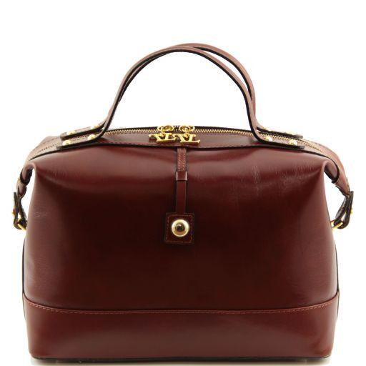 TL Bag Bauletto medio in pelle Marrone TL141190