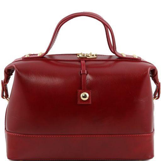 TL Bag Bauletto medio in pelle Rosso TL141190
