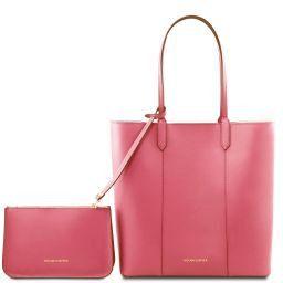 Dafne Borsa shopper in pelle Rosa Antico TL141709
