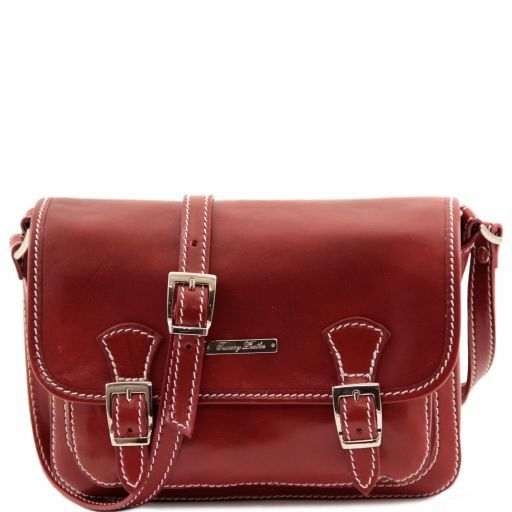 San Marino Borsa da donna in pelle - Modello piccolo Rosso TL141200