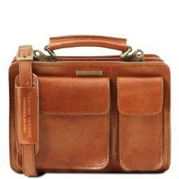 Tania Женская кожаная сумка Мед TL141270