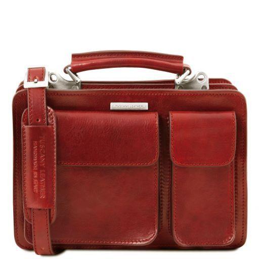 Tania Sac à main en cuir Rouge TL141270