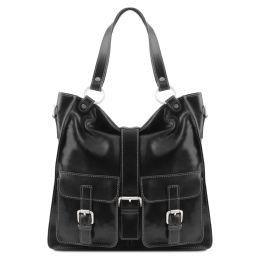 Melissa Lady leather bag Black TL140928