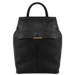 TL Bag Soft leather backpack for women Black TL141706