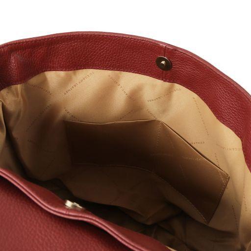 TL Bag Soft leather backpack for women Красный TL141706