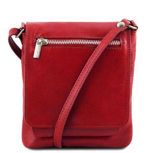 Sasha Unisex soft leather shoulder bag Red TL141510