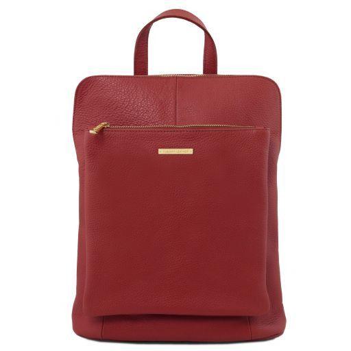 TL Bag Soft leather backpack for women Красный TL141682