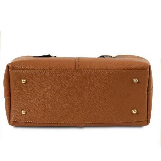 TL Bag Bolso shopping en piel Cognac TL141730