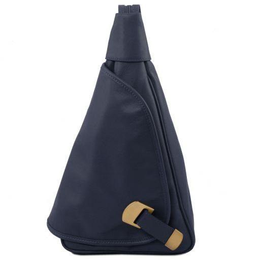 Hanoi Рюкзак из мягкой кожи Темно-синий TL140966