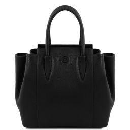 Tulipan Leather handbag Черный TL141727