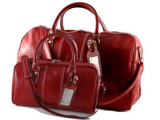 Metropolitan Set da viaggio Rosso TL10174