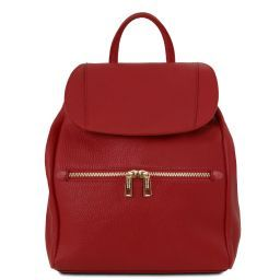 TL Bag Soft leather backpack for women Красный TL141697