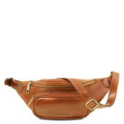 Leather fanny pack Honey TL141797