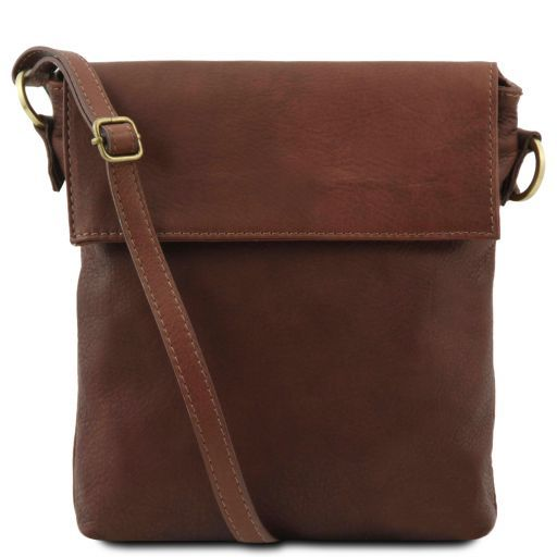Morgan Кожаная сумка на плечо Коричневый TL141511