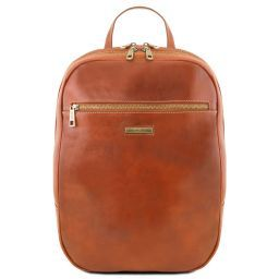 Osaka Leather laptop backpack Honey TL141711