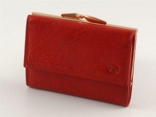 Portafogli in pelle donna Rosso TL140211