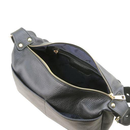 TL Bag Bauletto in pelle morbida Nero TL141746