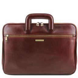 Caserta Dokumenten - Tasche aus Leder Braun TL141324