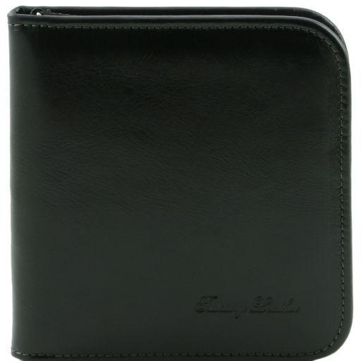 Exklusives Reiseetui für Uhren aus Leder Schwarz TL141292
