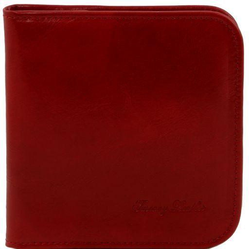 Esclusivo portaorologi in pelle da viaggio Rosso TL141292