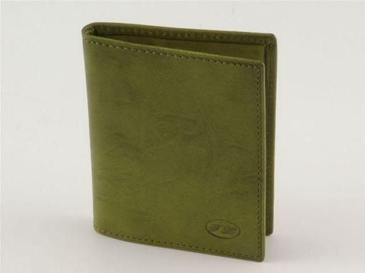 Portacarte di credito in pelle Verde TL140214