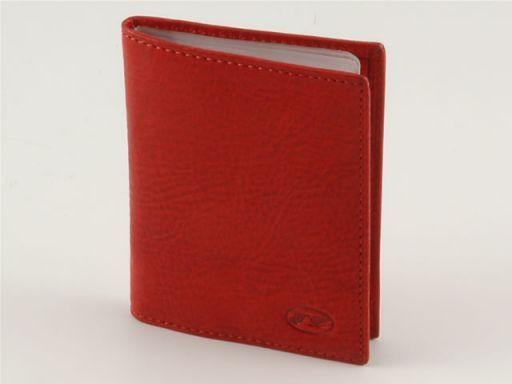 Portacarte di credito in pelle Rosso TL140214