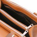 Fiordaliso Leather handbag Cognac TL141811