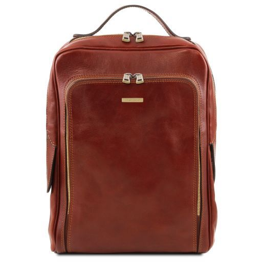 Bangkok Zaino porta notebook in pelle Marrone TL141793