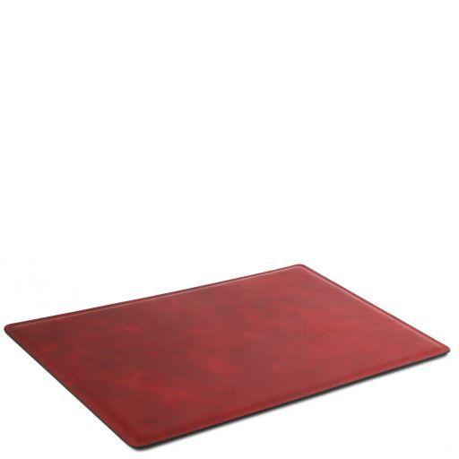 Sottomano da scrivania in pelle Rosso TL141892