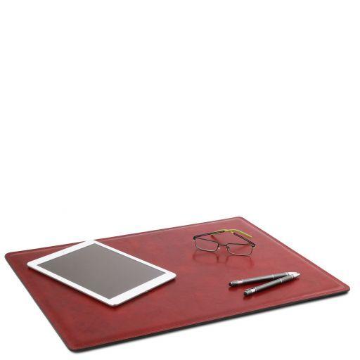 Carpeta de escritorio de piel Rojo TL141892