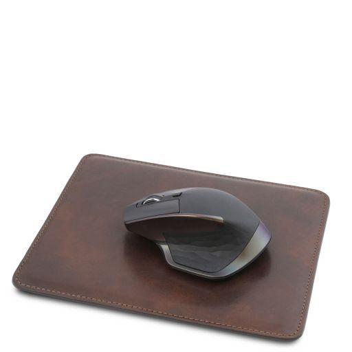Tappetino per mouse in pelle Testa di Moro TL141891