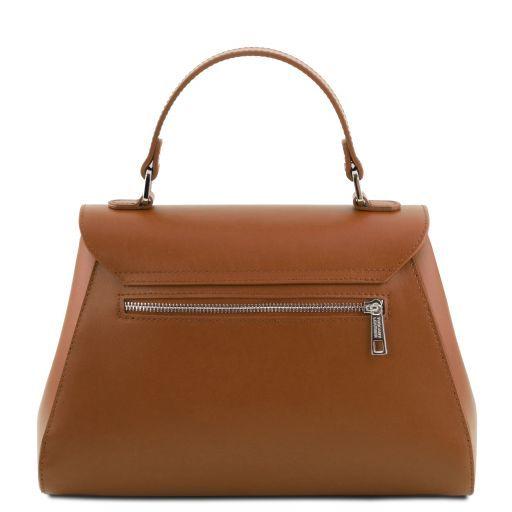TL Bag Bauletto in pelle Cognac TL141824