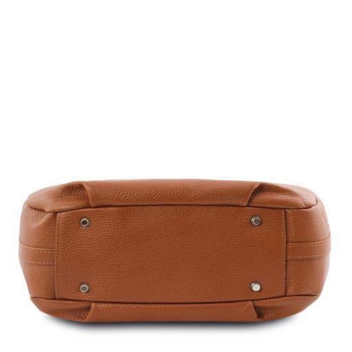 TL Bag Soft leather hobo bag Cognac TL141855