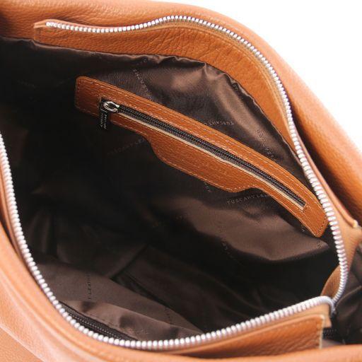 TL Bag Sac hobo en cuir souple Cognac TL141855