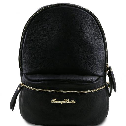 TL Bag Soft leather backpack for women Черный TL141320