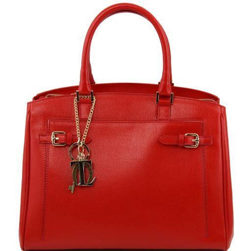 À Name Avec Tuscany Sac Boucles Leather – Main Cuir Saffiano doeWrCxB