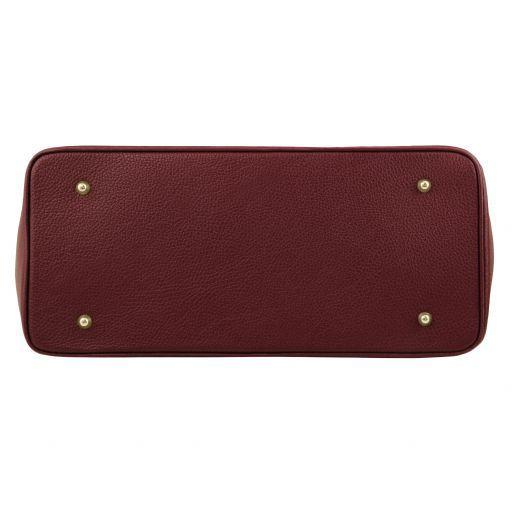TL Bag Borsa a mano con accessori oro Bordeaux TL141529