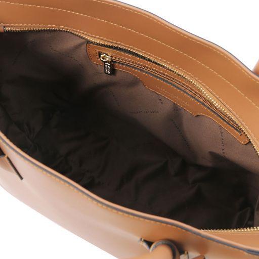 Aria Sac cabas en cuir Cognac TL141823