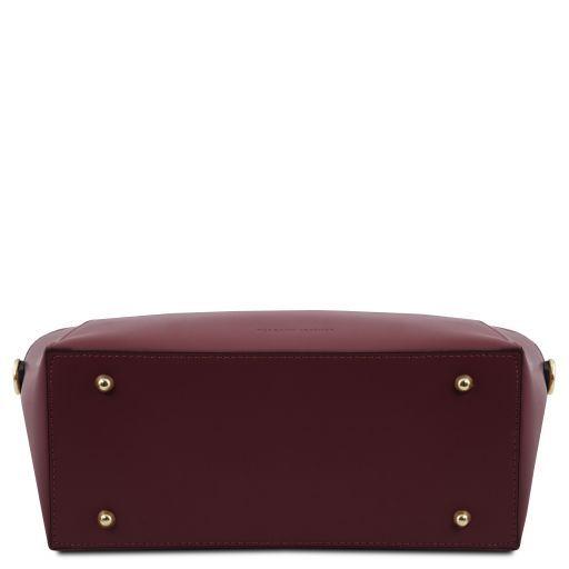 Aria Bolso shopping en piel Bordeaux TL141823