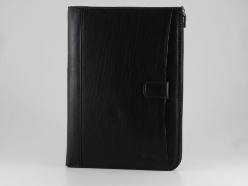 Riccardo Portadocumentos elegante en piel Negro FC140234