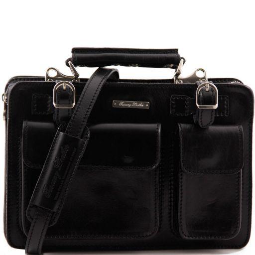 Tania Женская кожаная сумка Черный TL6021