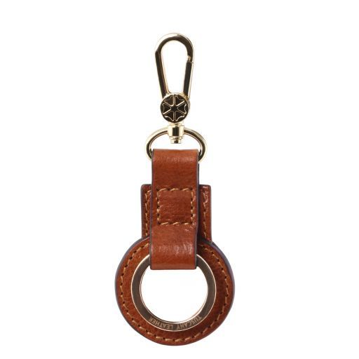 Schlüsselanhänger aus Leder Honig TL141923