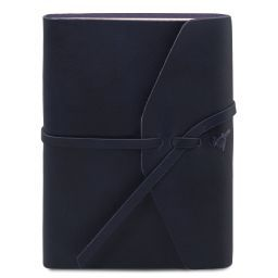 Diario di viaggio in pelle Blu scuro TL141925