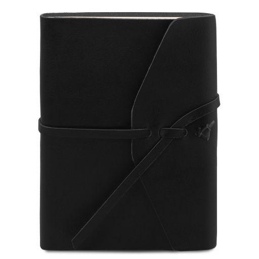 Leather travel diary Черный TL141925