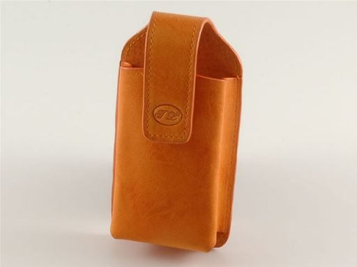 Leather cellphone holder Оранжевый TL140248